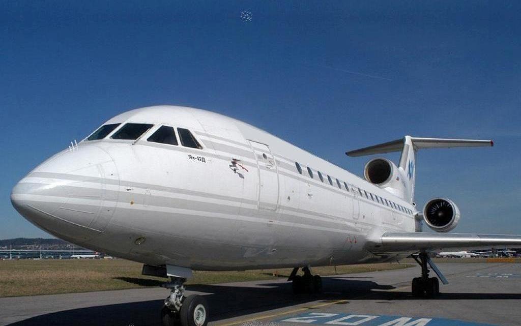 Аренда ЯК-42 VIP, заказ самолета ЯК-42VIP